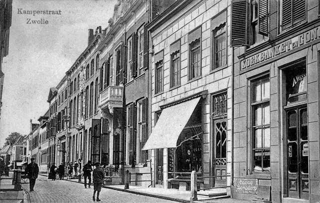 Kamperstraat 12 Keizerskroon 1919 1920 PBKR1874