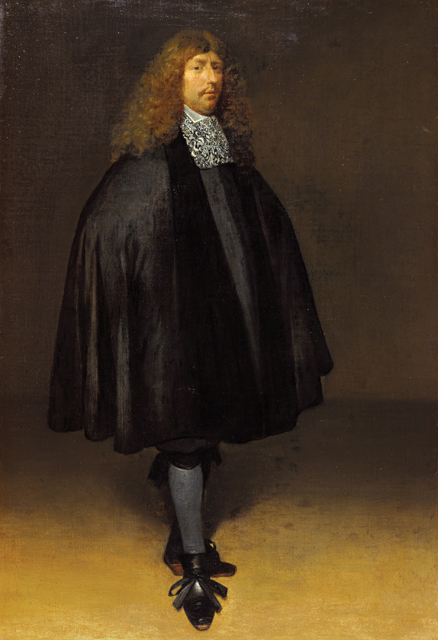 Zelfportret by Gerard ter Borch