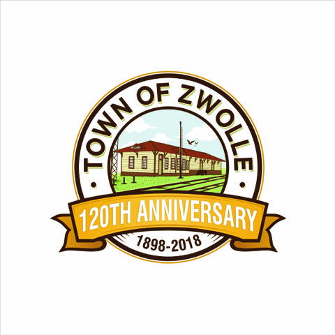 Logo for Zwolle's 120th Anniversary